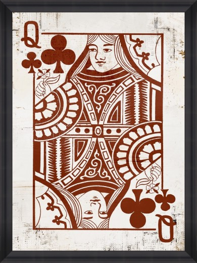 Tablou Framed Art Play Cards I
