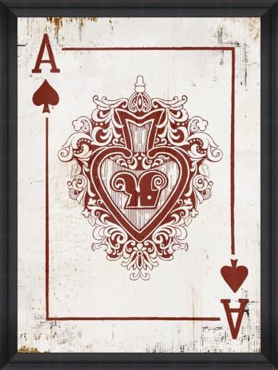 Tablou Framed Art Play Cards III