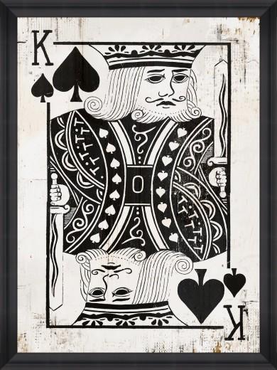 Tablou Framed Art Play Cards IV