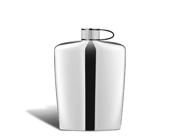Plosca din otel pentru bauturi alcoolice, Nuance Hip 461831, 160 ml, Zone Denmark