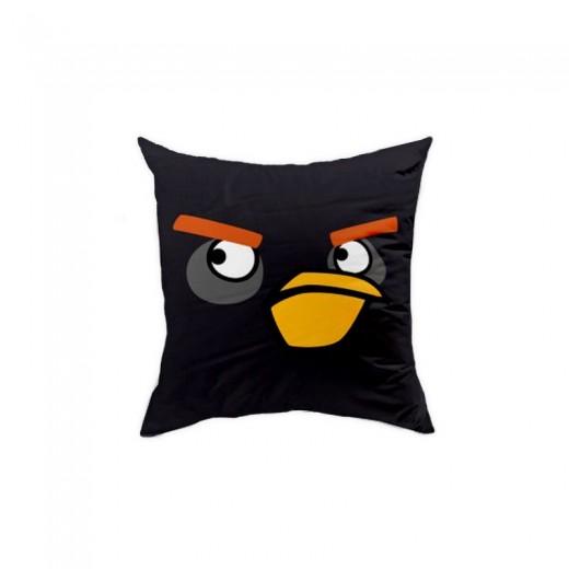 Perna decorativa Angry Birds AB016 Black, L40xl40 cm