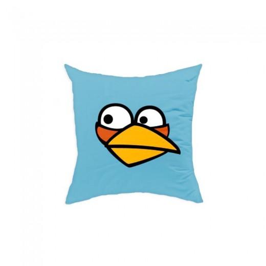 Perna decorativa Angry Birds AB016 Blue, L40xl40 cm