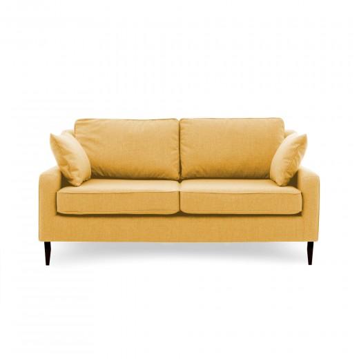 Canapea Fixa 3 locuri Bond Mustard