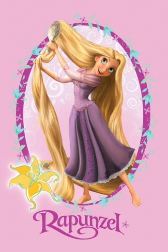 Covor Disney Kids Princess Rapunzel 112, Imprimat Digital