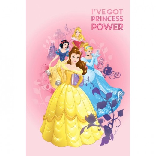 Covor Disney Kids Princess Power, Imprimat Digital