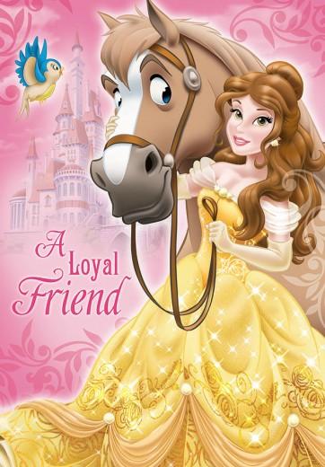 Covor Disney Kids Princess Belle 116, Imprimat Digital