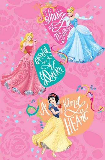 Covor Disney Kids Princess Cinderella 130, Imprimat Digital