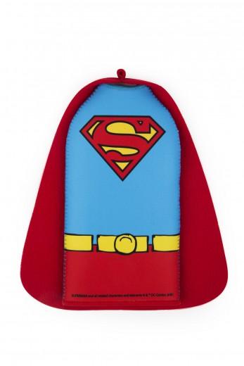 Racitor pentru sticle, din neopren, l12xH22,5 cm, Superhero Superman