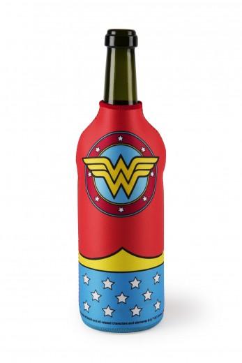 Racitor pentru sticle, din neopren, l12xH22,5 cm, Superhero Wonder Woman