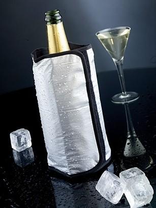 Racitor pentru sticle, Strappo Argintiu, L15,5xH22 cm