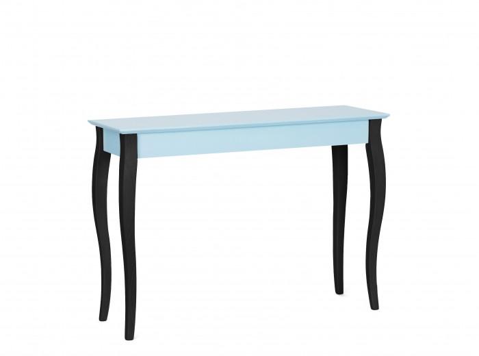 "Consola din lemn de fag si MDF ""Lillo Large"" Light Turquoise / Black, l105xA35xH74 cm"