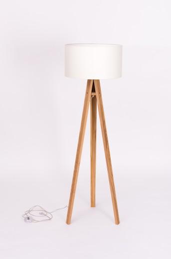 Lampadar Lamp Wanda White / Ash