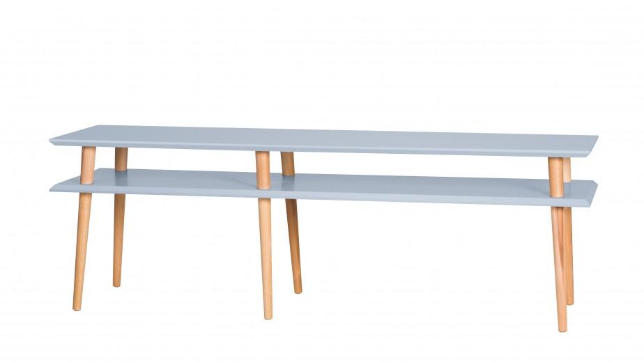 Comoda Mugo Light Grey, l159xA40xH45 cm