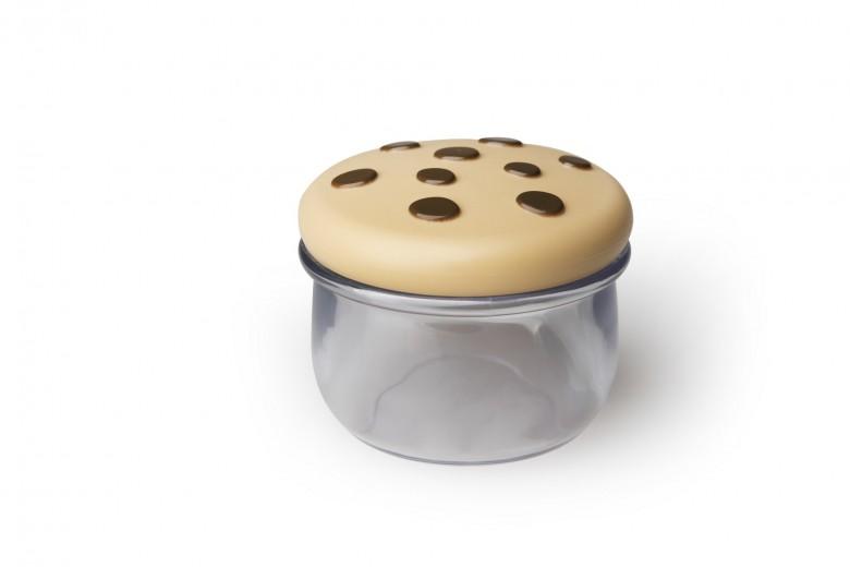 Recipient cu capac, pentru biscuiti, din plastic, L8,8 cm, Joie Transparent