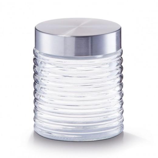 Recipient pentru depozitare Geri, Glass 650 ml, Ø 10,5xH12,5 cm