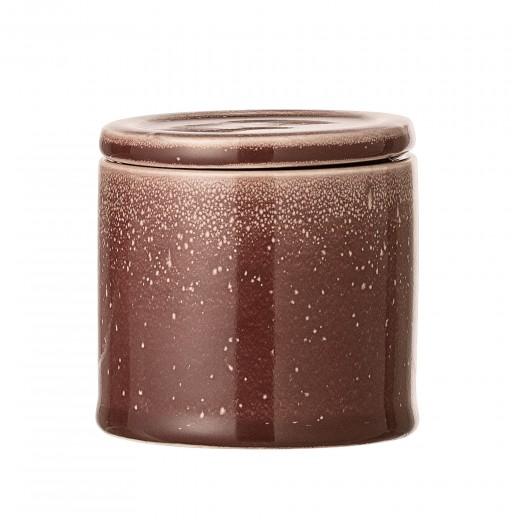 Recipient pentru depozitare Joelle din ceramica Red, Ø8xh8 cm