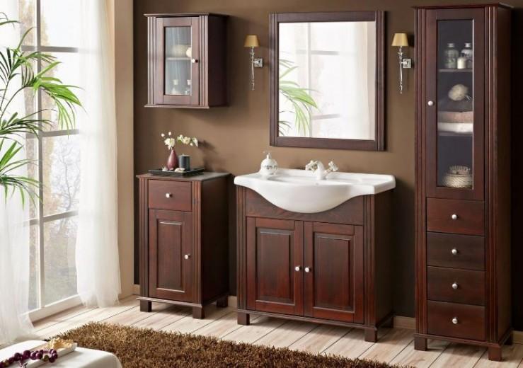 Set Mobilier pentru baie, 6 piese, Retro XL