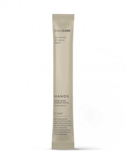 Rezerva pudra pentru sapun spuma, din ingrediente naturale, Care Hands, 350 ml