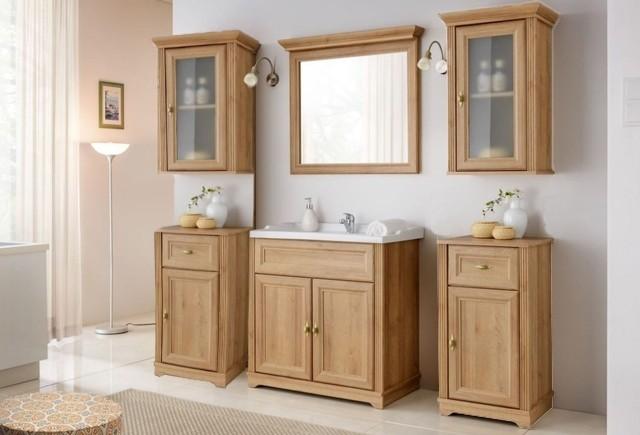 Set Mobilier pentru baie, 7 piese, Palace Riviera