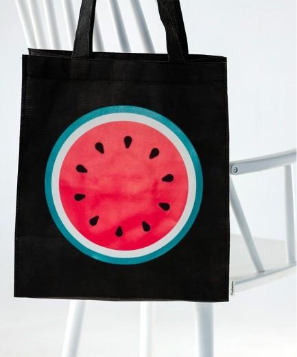 Sacosa din bumbac Dark Watermelon