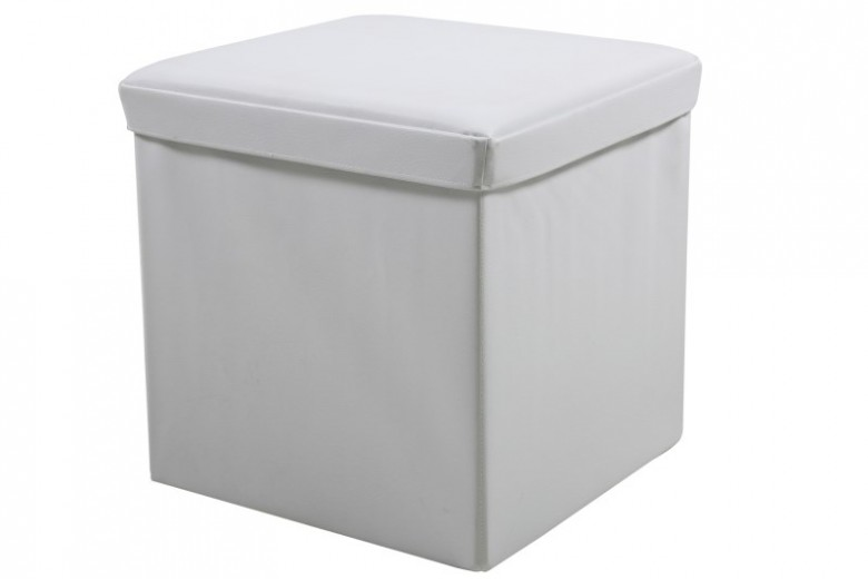Set 4 cutii de depozitare Sada Colours White