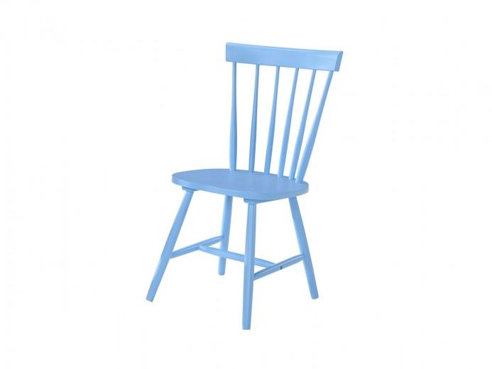 Scaun din lemn Guus Albastru, l44,5xA43xH88,5 cm