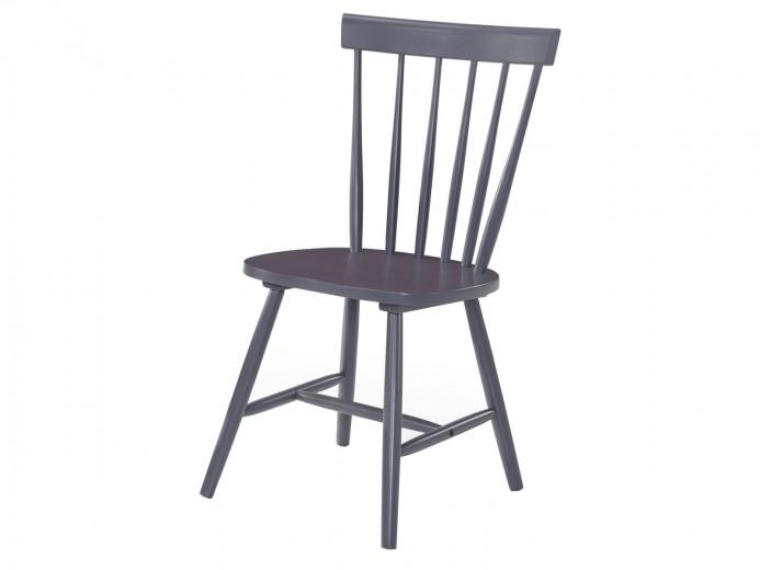 Scaun din lemn Guus Gri, l44,5xA43xH88,5 cm