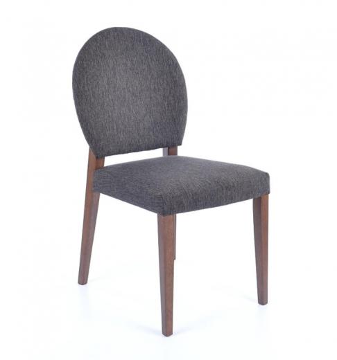 Scaun din lemn masiv tapitat cu stofa Aldo