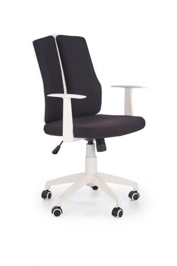 Scaun de birou ergonomic Iron II Black / White, l59xA58xH96-106 cm