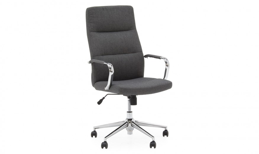 Scaun de birou ergonomic Larsson Grey, l59,5xA67xH116 cm