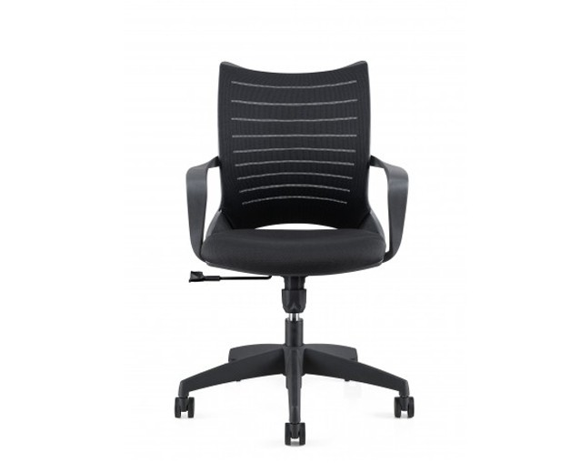 Scaun de birou ergonomic, tapitat cu stofa Novo S167 Black, l60xA56xH90-102 cm