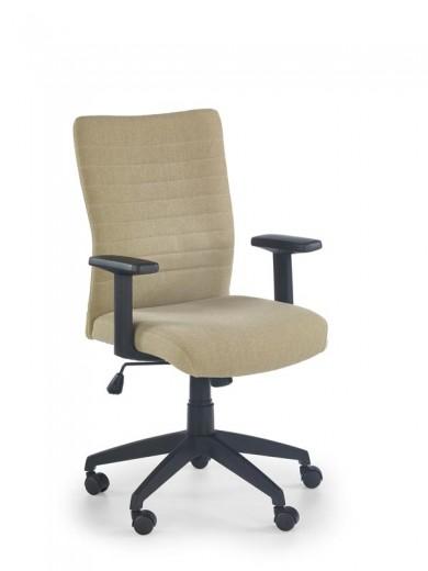 Scaun de birou ergonomic, tapitat cu stofa Limbo Beige, l60xA64xH94-111 cm