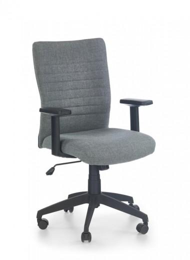 Scaun de birou ergonomic, tapitat cu stofa Limbo Grey, l60xA64xH94-111 cm
