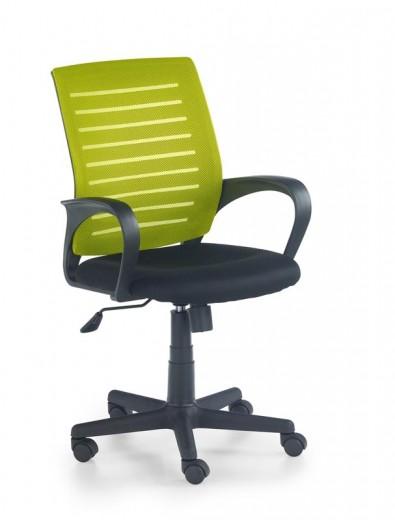 Scaun de birou ergonomic, tapitat cu stofa Santana Green / Black, l58xA60xH89-99 cm