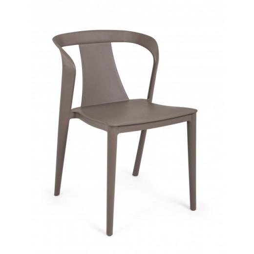 Scaun din plastic Alyssa Maro, l53xA51,5xH78 cm