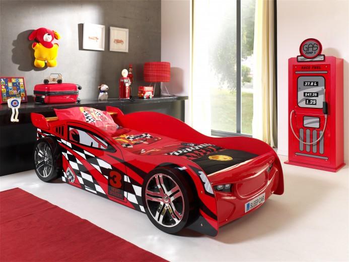 Pat pentru copii Night Speeder Red