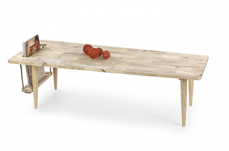 Masa de cafea din lemn Madeira, L120xl50xh34 cm