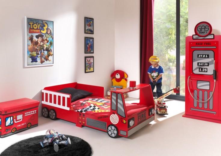 Pat pentru copii Junior Fire Truck
