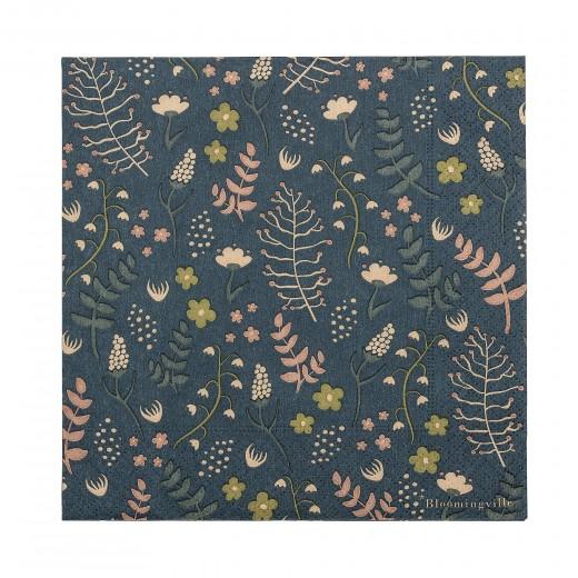 Servetele de hartie Napkin Palm Multicolor, 33 x 33 cm, 20 bucati