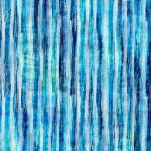 Set 3 role Tapet Imprimat Digital Tie Dye Aquamarine