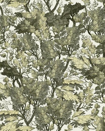 Set 3 role Tapet Imprimat Digital Tree Foliage