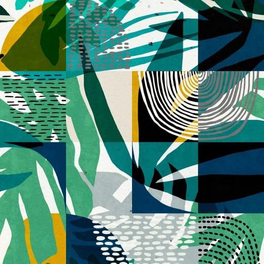 Set 3 role Tapet Imprimat Digital Wilderness