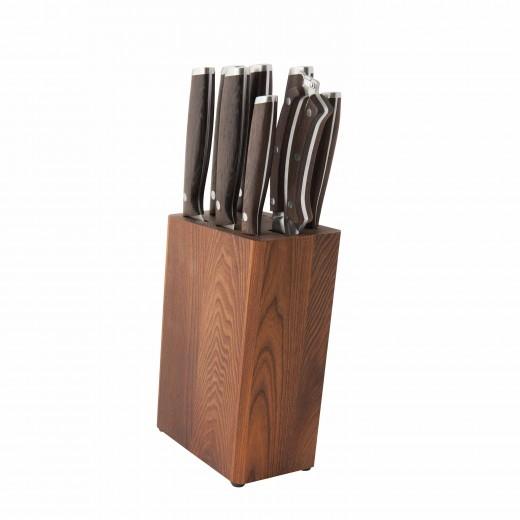 Set 7 cutite + accesorii Block, Essentials Line
