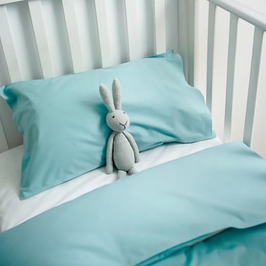 Lenjerie de pat copii Celadon & White