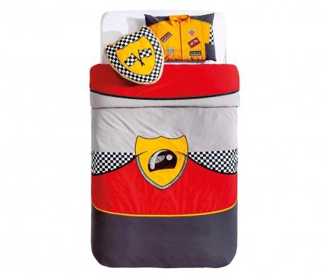 Set cuvertura pat copii si 2 perne decorative Bispeed Multicolor