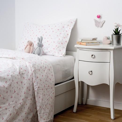 Lenjerie de pat copii Flor & White