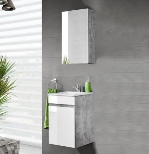 Set Mobilier pentru baie, 3 piese, Atelier