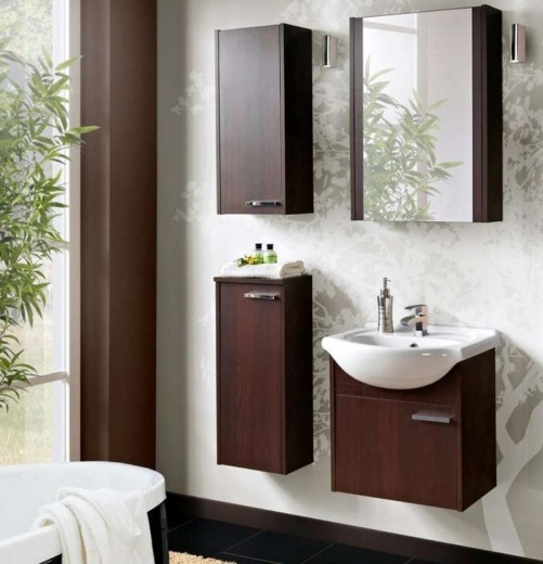 Set Mobilier pentru baie, 5 piese, New York
