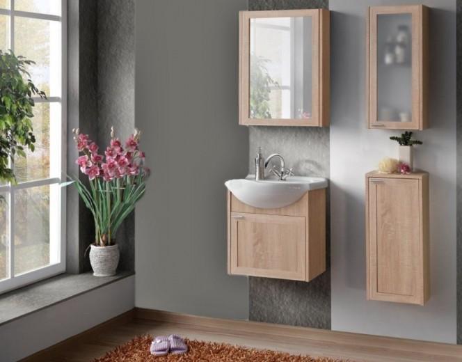 Set Mobilier pentru baie, 5 piese, Piano