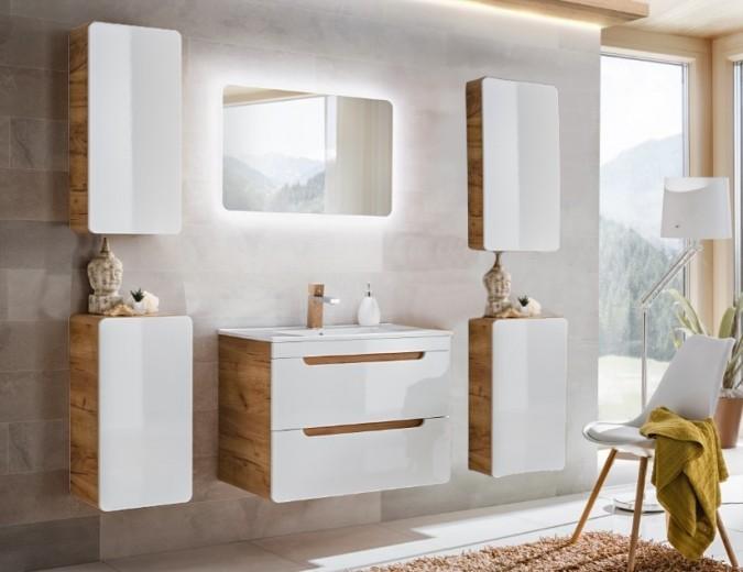 Set Mobilier pentru baie, 6 piese, Aruba